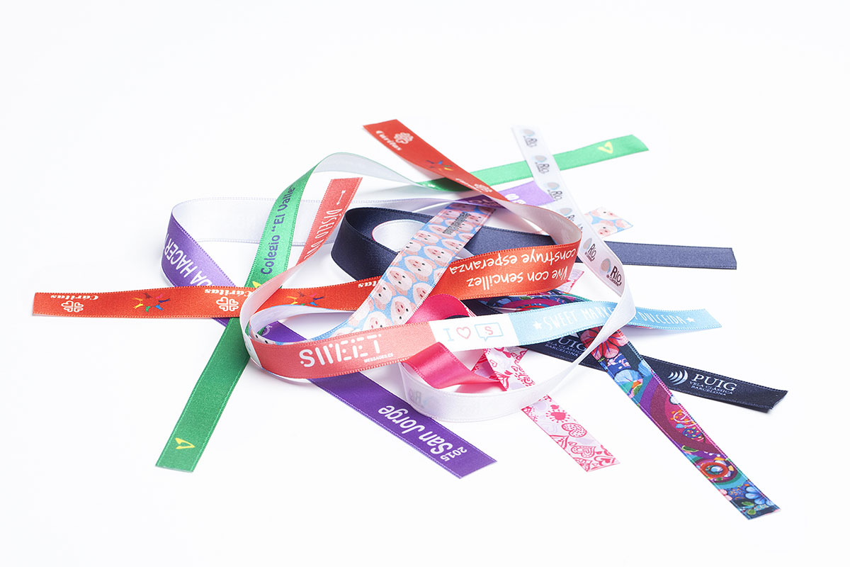 Satin Wristbands Wristbands Lanyards Amp Custom Fabric
