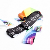 Elastic tape | Lanyards  Custom Fabric Bracelets