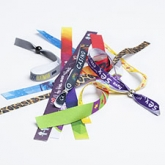 Wristbands | Lanyards  Custom Fabric Bracelets