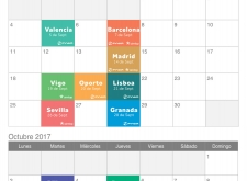 CALENDARIO ROADSHOWS Otoño 2017